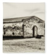 Inside Fort Mifflin - Phildalphia Fleece Blanket