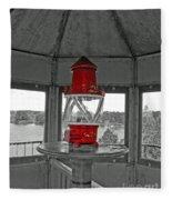 Inside The Lighthouse Tower #2. Uostadvaris. Lithuania. Fleece Blanket