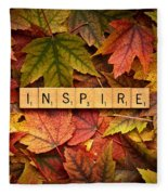Inspire-autumn Fleece Blanket