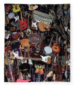Instruments Fleece Blanket