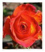 Intense Rose Fleece Blanket