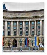 Interstate Commerce Commission Fleece Blanket