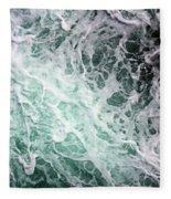 Into The Deep Fleece Blanket