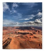 Into The Sky Fleece Blanket