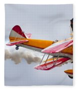 Into The Wind Fleece Blanket