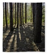 Into The Woods Spnc Michigan Fleece Blanket