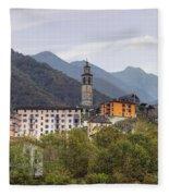 Intragna - Ticino Fleece Blanket
