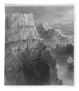 Ireland: Cliffs, C1840 Fleece Blanket