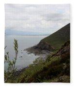 Ireland Coast I Fleece Blanket