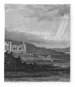 Ireland: Dunbrody Abbey Fleece Blanket