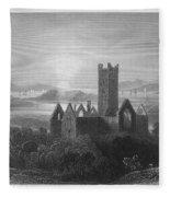 Ireland: Rosserk Abbey Fleece Blanket