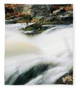 Ireland Waterfall Fleece Blanket