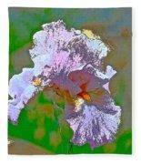 Iris 45 Fleece Blanket