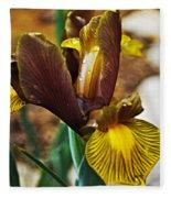 Iris After The Rain Fleece Blanket