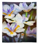 Iris Art Fleece Blanket