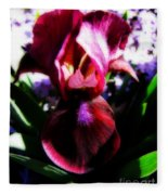 Iris Inner Beauty Fleece Blanket