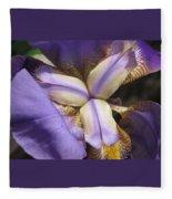 Iris Smiles Fleece Blanket