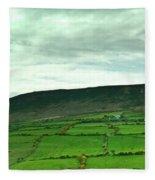Irish Countryside 2 Fleece Blanket