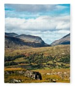 Irish Landscape 100 Fleece Blanket