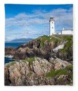 Irish Lighthouse Fleece Blanket