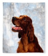 Irish Red Setter Fleece Blanket