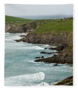Irish Sea Coast 2 Fleece Blanket