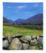 Irish Snow Scenes, Co Wicklow Fleece Blanket