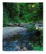 Iron Creek  Fleece Blanket