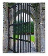 Iron Gate Fleece Blanket
