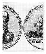 Isaac Hull: Medal Fleece Blanket