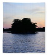 Island Evening Fleece Blanket