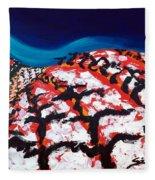 Island Vineyard Fleece Blanket
