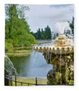 Italian Fountain London Fleece Blanket