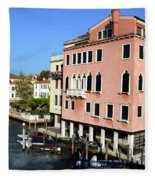Italian Views Fleece Blanket