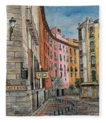 Italian Village 2 Fleece Blanket