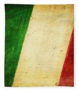 Italy Flag Fleece Blanket