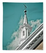 It's A Beautiful Day Fleece Blanket