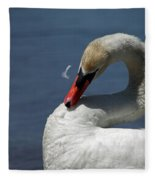 Its Like Pulling Hair Fleece Blanket