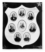 J.a. Garfield: Cabinet Fleece Blanket