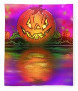 Jack And Friends By The Waters Edge Fleece Blanket