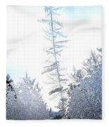 Jack Frost's Ice Forest Fleece Blanket