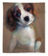 Jack Russell Terrier Dog Fleece Blanket