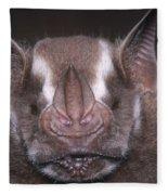 Jamaican Fruit Bat Fleece Blanket