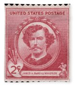 James A. Mcneill Whistler Fleece Blanket