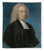 James Bradley, English Astronomer Fleece Blanket