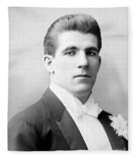 James J. Corbett Fleece Blanket