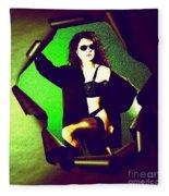 Jane Joker 2 Fleece Blanket