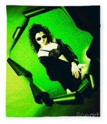 Jane Joker 3-2 Fleece Blanket