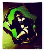 Jane Joker 3 Fleece Blanket