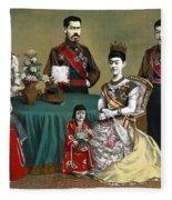 Japan: Imperial Family Fleece Blanket